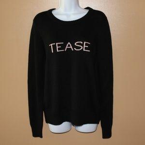 Victoria's Secret Sweaters - NWT Victoria Secret's Black Sweater-Size Small